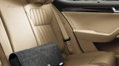 New Skoda Superb Facelift Rear Seats