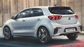 New Kia Rio Facelift Gt Line Rear Quarters Iab