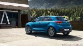 New Kia Rio Facelift Rear Quarters Iab