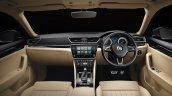 New Skoda Superb Facelift Interior Dashboard 7639