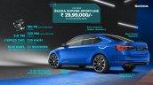 New Skoda Superb Facelift Sportline 08a8