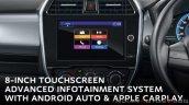 2020 Datsun Redigo Facelift Infotainment System