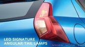 2020 Datsun Redigo Facelift Tail Lamp 58b2