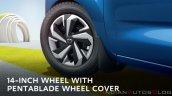 2020 Datsun Redigo Facelift Wheel Cover 1941