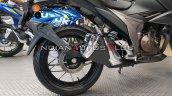 Bs Vi Suzuki Gixxer 250 Auto Expo 2020 Rear Wheel