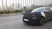 Hyundai Compact Mpv Front Quarters Spy Shot