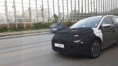 Hyundai Compact Mpv Front Quarters Spy Shot 7e2f