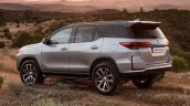New Toyota Fortuner Facelift 2021 Rear Rendering 5