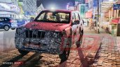 2021 Mahindra Scorpio Front Quarters Spy Shot