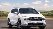2021 Hyundai Santa Fe Facelift Front Quarters Eu
