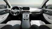 2021 Hyundai Santa Fe Facelift Interior Dashboard