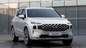 2021 Hyundai Santa Fe Facelift Lux Front Quarters
