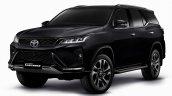 Toyota Fortuner Legender Black Front Quarters