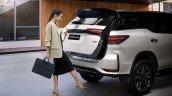 Toyota Fortuner Legender Gesture Tailgate