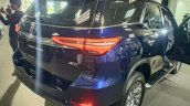 2021 Toyota Fortuner Facelift Rear Lights Live