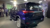 2021 Toyota Fortuner Facelift Rear Quarters Live