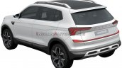 Skoda Vision In Rear Quarters Patent