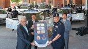 Honda Civic Police Car Delivery