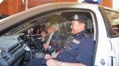 Honda Civic Police Car Interior