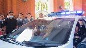 Honda Civic Police Patrol Car Windshield