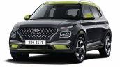 Hyundai Venue Flux Front Quarters