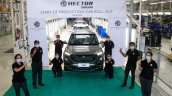 Mg Hector Plus Production Commencement Iab