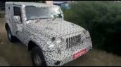 2020 Mahindra Thar Diesel Automatic Spied Spy Shot