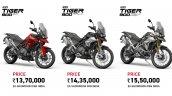 Triumph Tiger 900 Prices