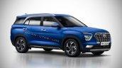 7 Seat Hyundai Creta Seven Seater Rendering Iab 98