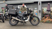 Modified Royal Enfield Himalayan Rhs