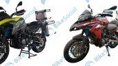 Qj Srt 500 Vs Benelli Trk 502