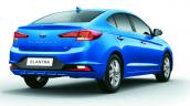 2020 Hyundai Elantra Rear 3 Quarter