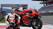 Ducati Ceo Superleggera V4 At Mugello Circuit