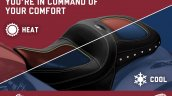 Indian Motorcycle Climacommand Classic Seat Featur