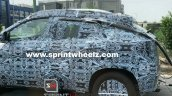 Renault Kiger Spy Shots Side View
