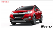 2020 Honda Wr V Red Official Image Front Three Qua
