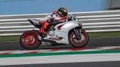 Ducati Panigale V2 White Action Shot