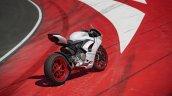 Ducati Panigale V2 White Track Shot