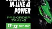 Kawasaki Ninja Zx 25r Pre Bookings Indonesia