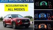 Hyundai Creta 0 100 Kmph Turbo Petrol In 3 Modes