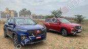 Mg Hector Plus Comparision Regular Hector