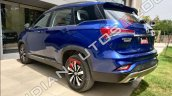 Mg Hector Plus Rear Left Three Quarter