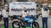 Suzuki Gixxer Sf 250 Bs6 5 Millionth Unit
