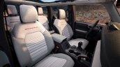 Ford Bronco Four Door Interior Design