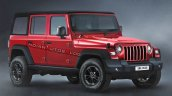 Mahindra Thar 4 Door Render Featured 2