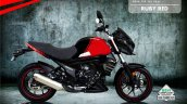 Bs6 Mahindra Mojo 300 Abs Ruby Red