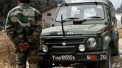 Maruti Gypsy Indian Army Deliveries Indian Officer