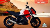 Bs6 Mahindra Mojo Red Agate