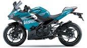 2021 Kawasaki Ninja 400 Blue Lhs