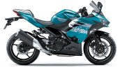 2021 Kawasaki Ninja 400 Blue Rhs